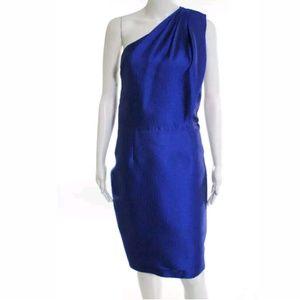 ML MONIQUE LHUILLIER Royal Blue Dress
